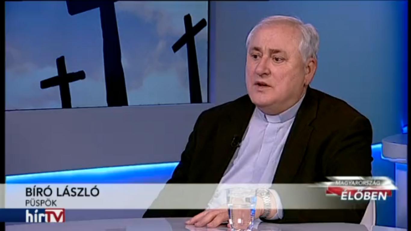 Bíró László a HírTV műsorában