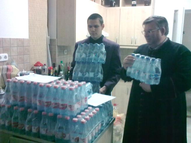 Adomány a Szentkirályi Ásványvíz Kft.-től