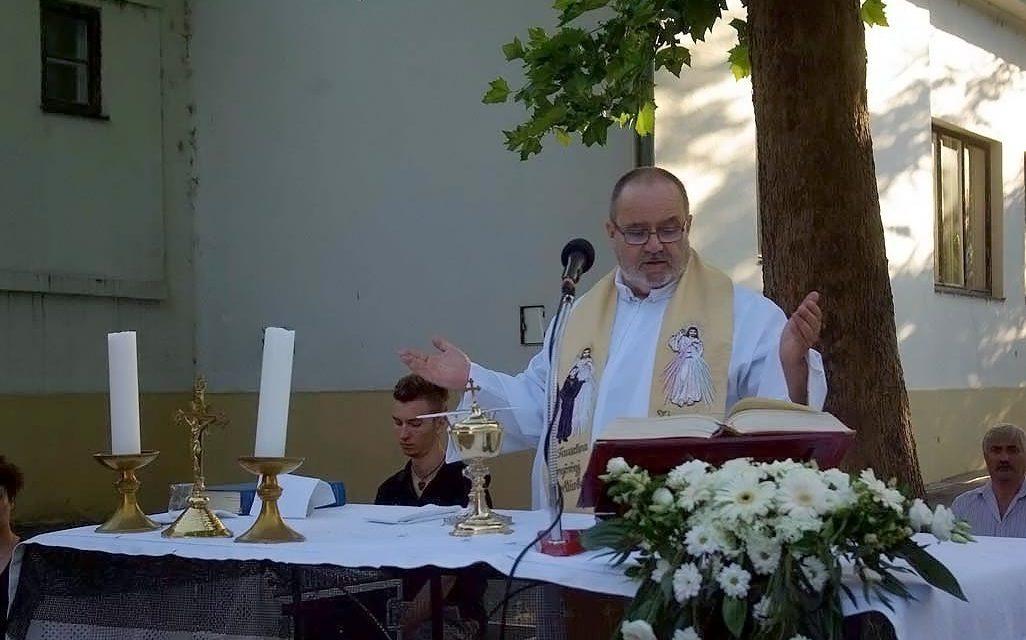 Bíró László gyógyulásáért mondtak misét